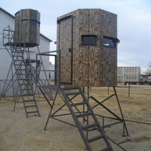 Deer Stands Four H Feed Breckenridge Texas